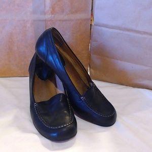 Black Comfort Womens Shoes